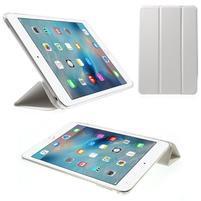 Trifold trojpolohové pouzdro na tablet iPad mini 4 - bílé