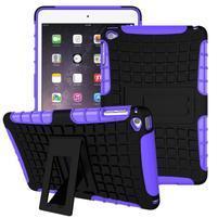Outdoor odolný obal na tablet iPad mini 4 - fialový