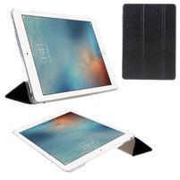 Trifold polohovatelné pouzdro na tablet iPad Pro 9.7 - černé