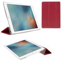 Trifold polohovatelné pouzdro na tablet iPad Pro 9.7 - červené