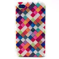 Emotive gelový obal na mobil iPhone 4 - hexagony