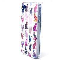Emotive gelový obal na mobil iPhone 4 - kočičky