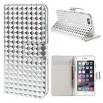 Cool style pouzdro na iPhone 6s a iPhone 6 - stříbrné