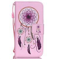 Peněženkové pouzdro na mobil iPhone SE / 5s / 5 - dream