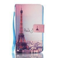 Emotive pouzdro na mobil Lenovo A536 - Eiffelova věž