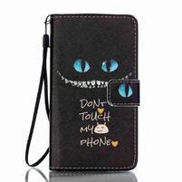 Emotive pouzdro na mobil Lenovo A536 - varování