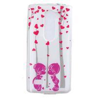 Jelly gelový obal na mobil LG Leon - láska