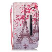 Royal pouzdro na mobil s magnetickou sponou na LG Leon - Eiffelova věž