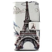 Style peněženkové pouzdro na LG Leon - Eiffelova věž