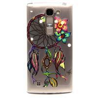 Transparentní gelový kryt na mobil LG Spirit - snění