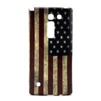 Gelový kryt na mobil LG Spirit - US vlajka