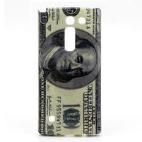 Gelový kryt na mobil LG Spirit - bankovka