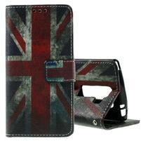 Peněženkové pouzdro na LG Spirit - vlajka UK