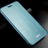 Vintage PU kožené pouzdro s kovovou výstuhou na Meizu MX5 -  modré