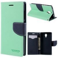 Mr. Fancy peněženkové pouzdro na Xiaomi Mi4 - azurové