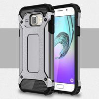 Extreme outdoor kryt 2v1 na mobil Samsung Galaxy A3 (2016) - šedý