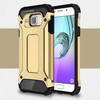 Extreme outdoor kryt 2v1 na mobil Samsung Galaxy A3 (2016) - zlatý