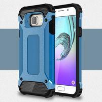 Extreme outdoor kryt 2v1 na mobil Samsung Galaxy A3 (2016) - světlemodrý