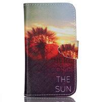 Emotive peněženkové pouzdro na Samsung Galaxy Core Prime - východ slunce