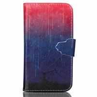 Emotive peněženkové pouzdro na Samsung Galaxy Core Prime - meteor