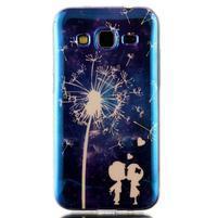 Bluray gelový obal s odlesky na Samsung Galaxy Core Prime - láska