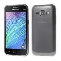 Ultra tenký obal pro Samsung Galaxy J1 - šedý