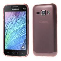 Ultra tenký obal pro Samsung Galaxy J1 - růžový
