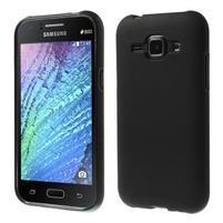 Černý matný kryt na Samsung Galaxy J1