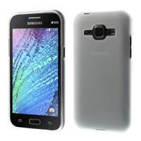 Transparentní matný kryt na Samsung Galaxy J1