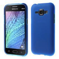 Modrý matný kryt na Samsung Galaxy J1