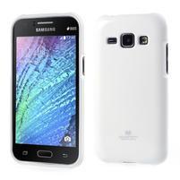 Bílý gelový obal na Samsung Galaxy J1
