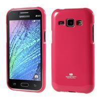 Rose gelový obal na Samsung Galaxy J1