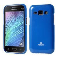 Modrý gelový obal na Samsung Galaxy J1