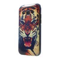 Gelový kryt na Samsung Galaxy J1 - tygr