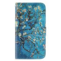 Standy peněženkové pouzdro na Samsung Galaxy J5 - kvetoucí strom