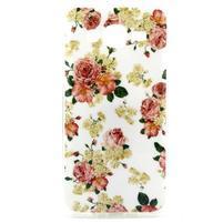 Imda gelový obal na mobil Samsung Galaxy J5 - květiny