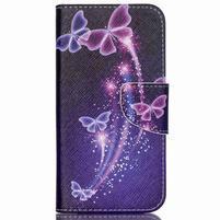 Emotive pouzdro na mobil Samsung Galaxy J5 - kouzelní motýlci