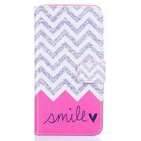 Knížkové pouzdro na mobil Samsung Galaxy J5 (2016) - smile