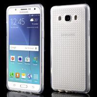 Diamonds gelový obal mobil na Samsung Galaxy J5 (2016) - transparentní