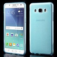 Diamonds gelový obal mobil na Samsung Galaxy J5 (2016) - modrý