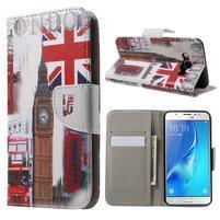 Nice peněženkové pouzdro pro Samsung Galaxy J5 (2016) - United Kingdom