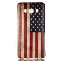 Jelly gelový obal na Samsung Galaxy J5 (2016) - US vlajka