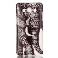 Jelly gelový obal na Samsung Galaxy J5 (2016) - slon