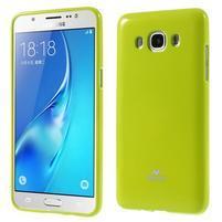 Newsets gelový obal na Samsung Galaxy J5 (2016) - zelený