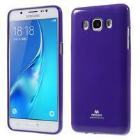 Newsets gelový obal na Samsung Galaxy J5 (2016) - fialový