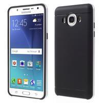 Hybridní obal 2v1 na mobil Samsung Galaxy J5 (2016) - stříbrný