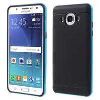 Hybridní obal 2v1 na mobil Samsung Galaxy J5 (2016) - světlemodrý