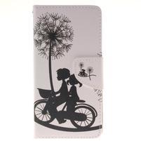 Pictures pouzdro na mobil Samsung Galaxy J5 (2016) - láska na kole