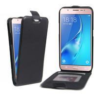 Flipové pouzdro na mobil Samsung Galaxy J5 (2016) - černé