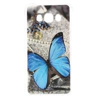 Antišok gelový obal na Samsung Galaxy J5 (2016) - modrý motýl